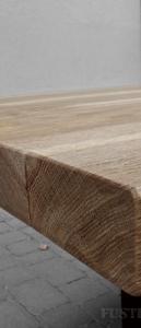 Taula de fusta de roure a mida
